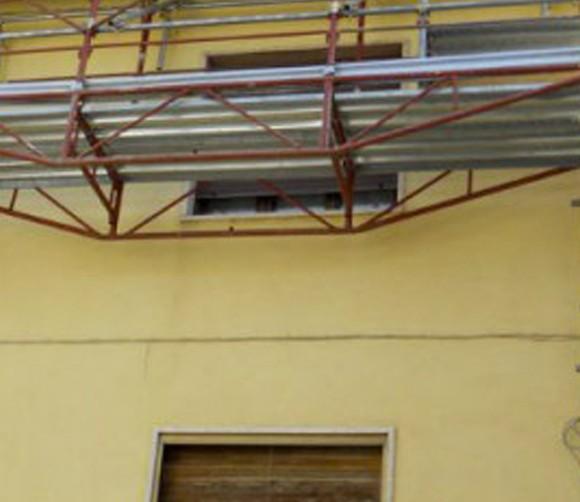 Varini Ponteggi – Ampliamento edificio Fumane Verona