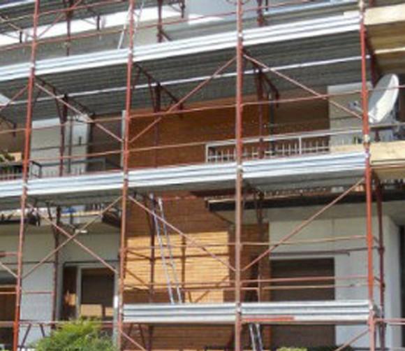 Varini Ponteggi – Rifacimento copertura a Valeggio sul Mincio, Verona